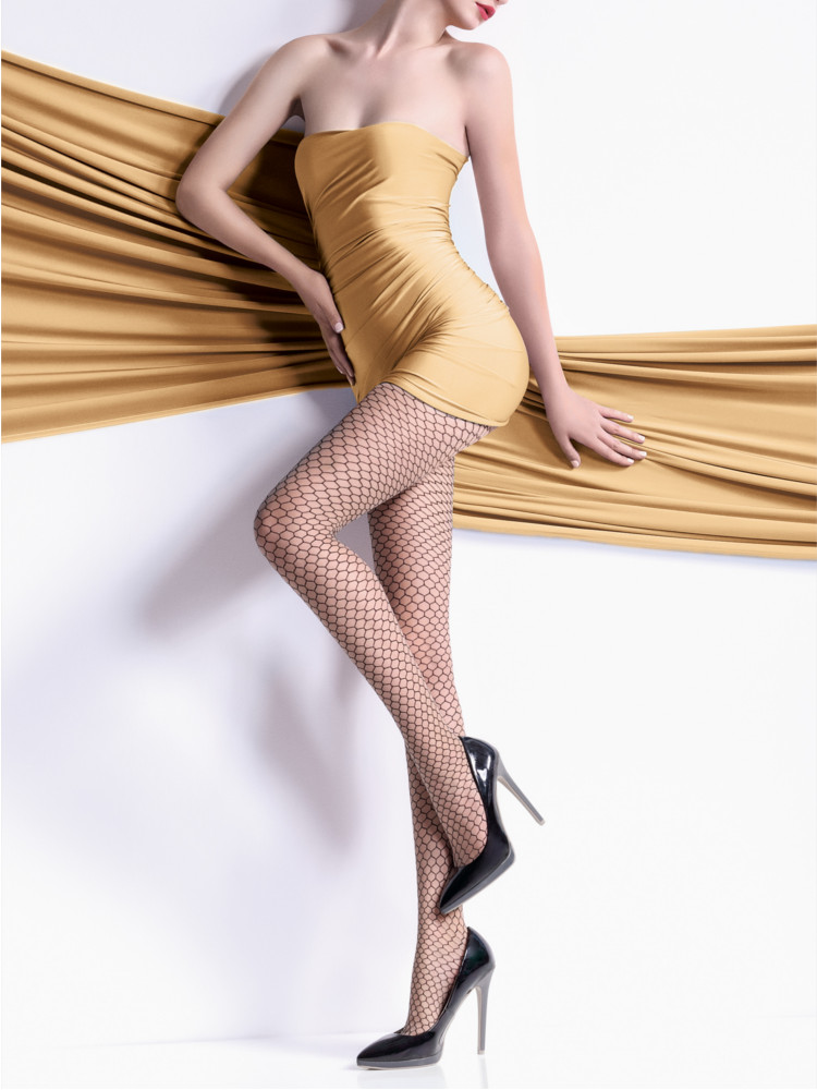 Giulia Arianna Mock Net Tights