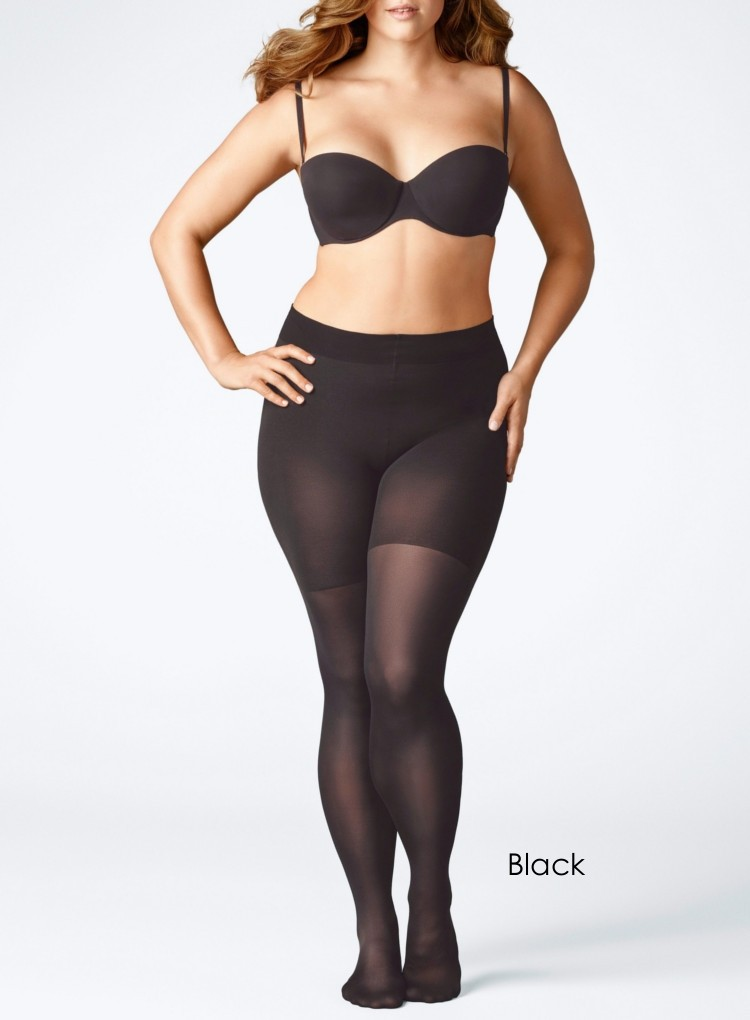 Falke Beauty Plus 50 Black Opaque Tights