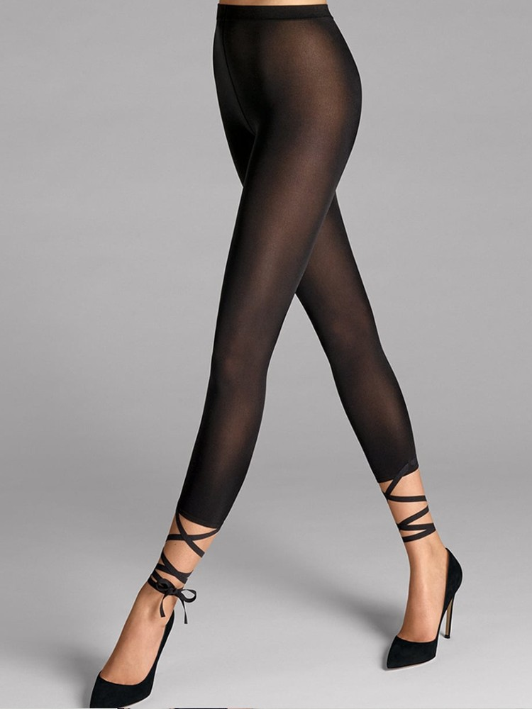 Wolford Lace Up Capri Leggings | The Tight Spot
