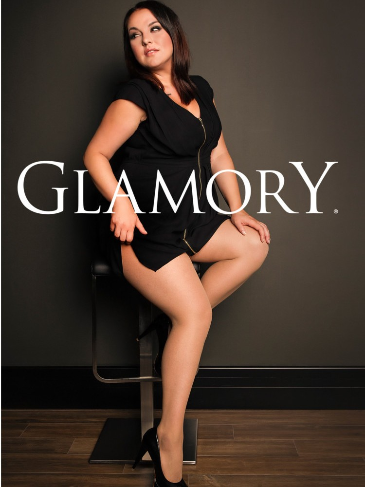 glamory satin 20 tights, plus size tights, the tight spot