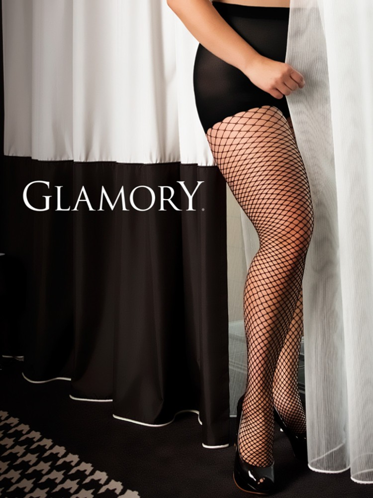a9983f88a11b5 ... Glamory Fishnet Plus Size Tights