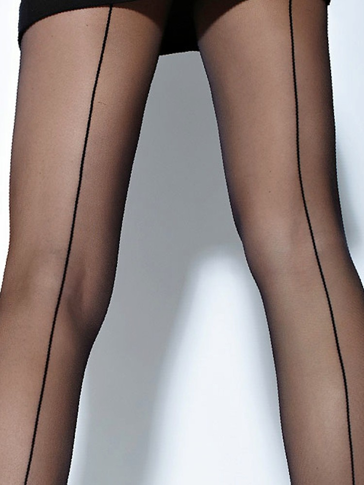 c1e3192f2 Cecilia de Rafael Hyde Park Back Seamed Tights Cecilia de Rafael Seamed  Tights ...
