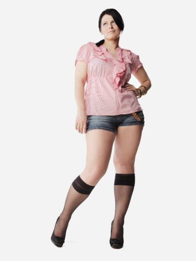 Lida Sjesta 20 Plus Size Knee Highs