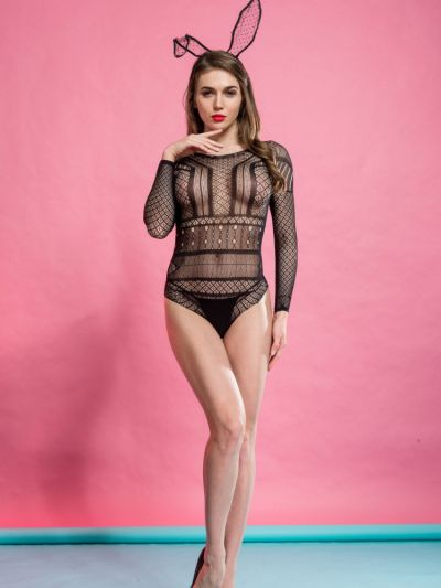 Silky Cindy Rose Net Body