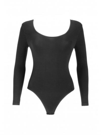 Oroblu Round Neck Long Sleeve Bodysuit