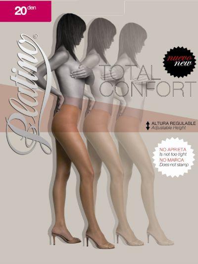 Platino 20 Total Confort Shiny Tights