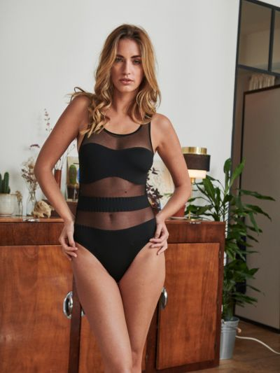 Implicite Impact Sheer Bodysuit