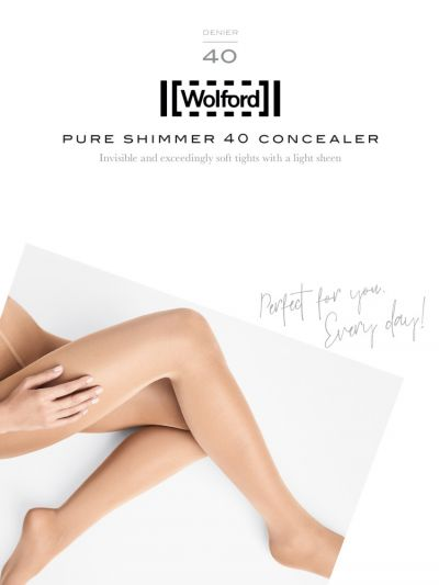 Opaque full coverage wolford tights packaging