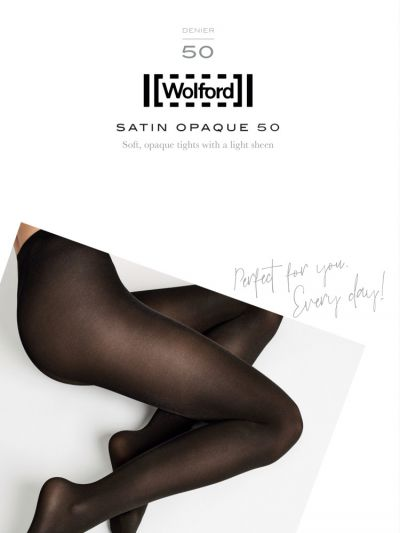 Opaque shiny wolford pantyhose packaging