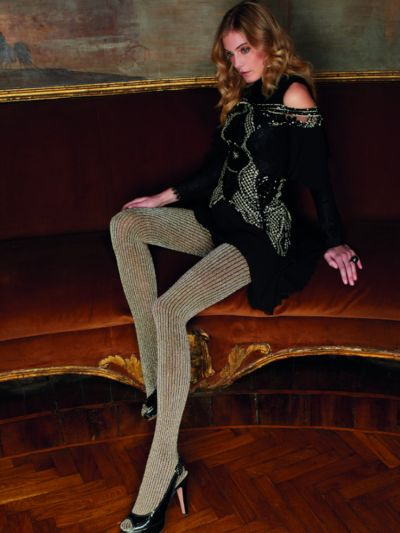 Trasparenze Bonarda Ribbed Sparkle Tights
