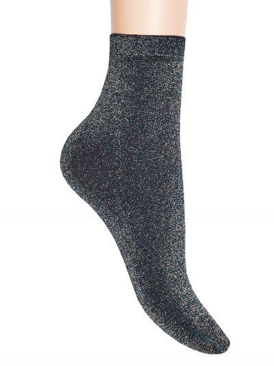 Jonathan Multi Coloured Lurex Glitter Sock