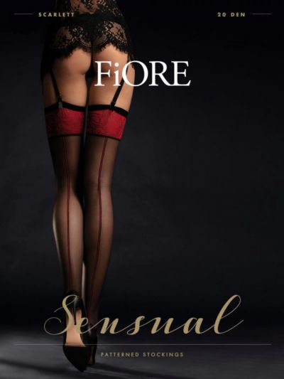 Fiore Scarlett Seamed Stockings