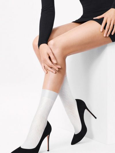 Wolford Florence Crochet Sock