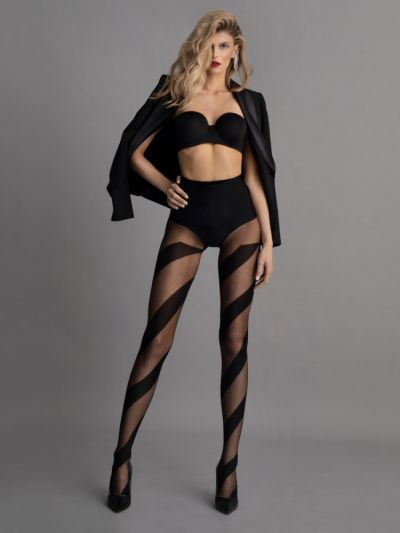 Fiore Candy Patterned Tights