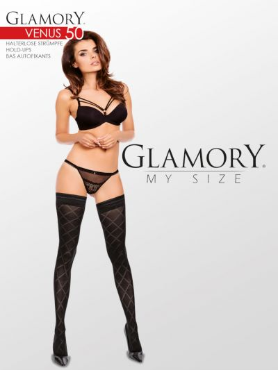 Glamory Venus 50 Hold Ups Plus Size Up To 4XL