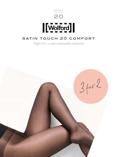 Wolford hosiery satin touch comfort multipack packaging
