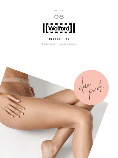 Wolford pantyhose ultra light and invisible nude tights due pack