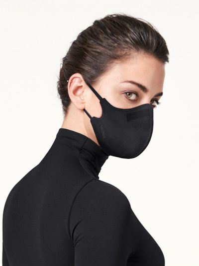 Wolford hosiery care mask in black