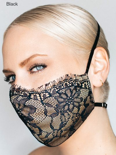 Katie May Luxury Provocateur Lace Face Mask