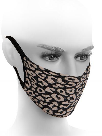 Fiore Hygiene Leopard Print Mask