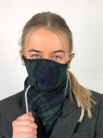 Slanj Kilts Tartan Drinking Face Mask
