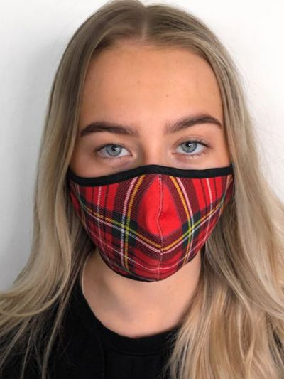 Slanj Royal Stewart Tartan Face Mask