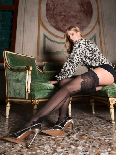 Trasparenze Ninfa Lace Hold Ups