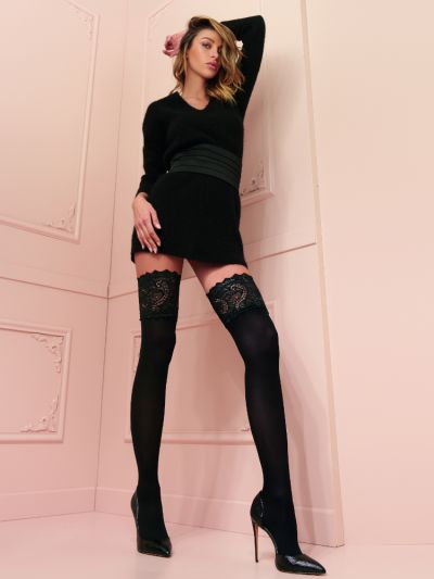 Trasparenze Lucrezia Lace Band Hold Ups