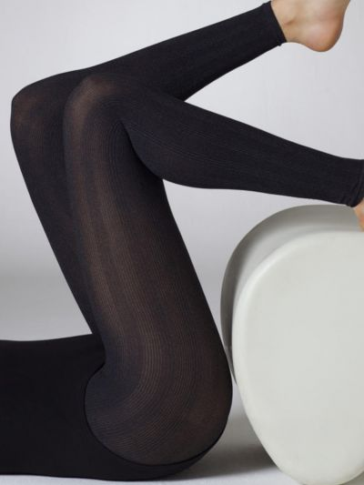 Gipsy Double Ribbed Footless Tights