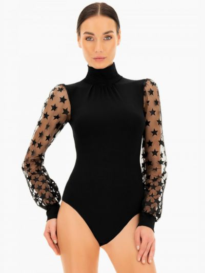 Oroblu Deutzia Body Long Sleeve Bodysuit