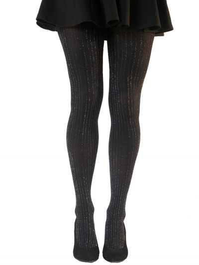 Gipsy Lurex Ribbed Tights