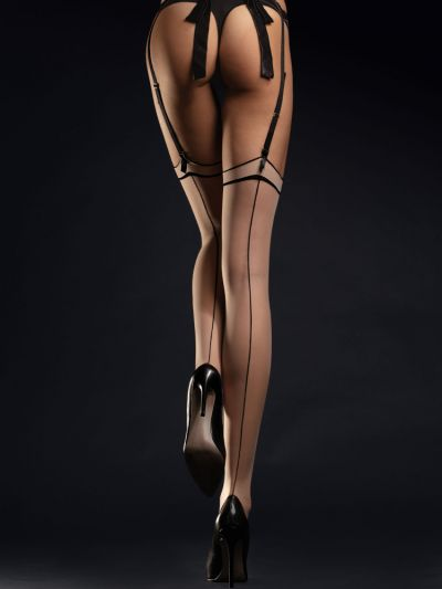 Fiore Madame Seamed Stockings