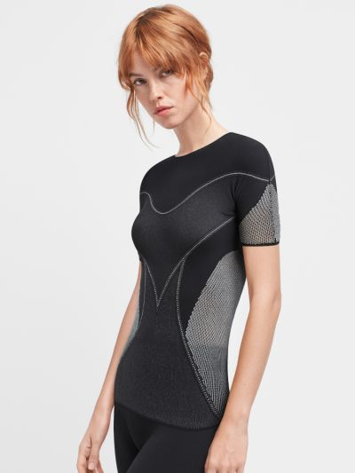 Wolford Zen Short Sleeve Top