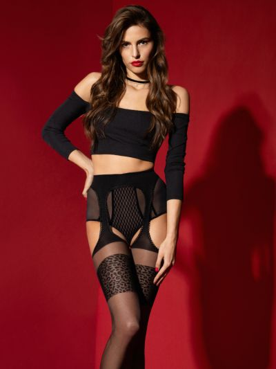 Fiore Amour Sauvage 20 Denier Suspender Tights