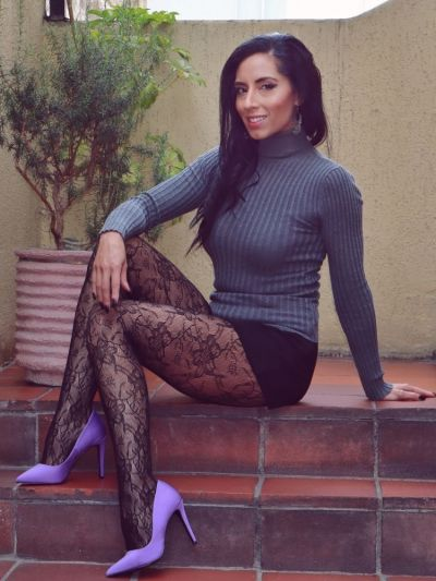 Couture Alexandra Net Seamless Tights