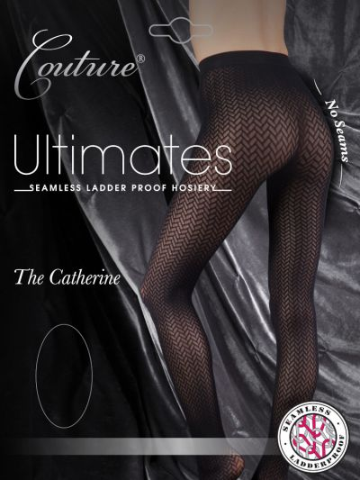 Couture Catherine Geometric Seamless Tights