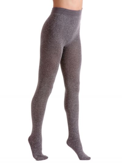 Couture Lurex Fleece Tights