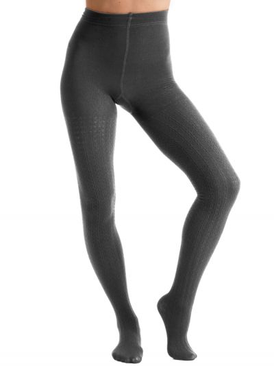 Couture Cable Knit Fleece Tights