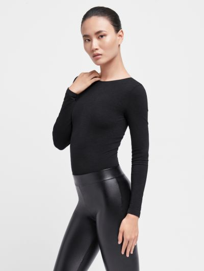 Wolford Memphis Seamless String Bodysuit
