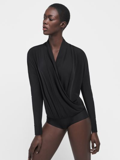 Wolford Shannon Wrap-Around Bodysuit