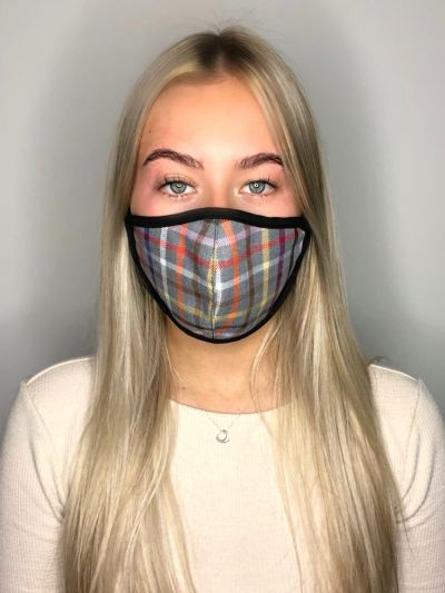 Slanj Homeless Charity Tartan Mask