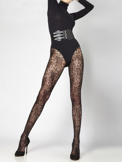 Cecilia de Rafael Marmara Patterned Tights