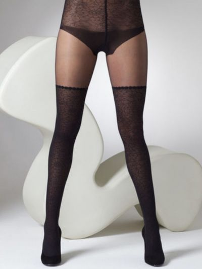 Gipsy Mock Lace Hold Up Tights