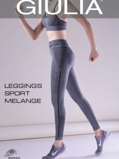 Giulia Full Length Capri Sport Melange Leggings