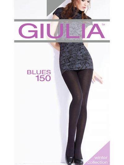 Giulia Blues 150 Opaque Tights