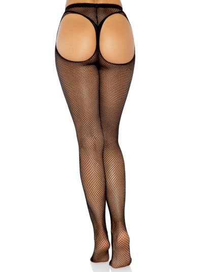 Leg Avenue Thong Back Fishnet Tights