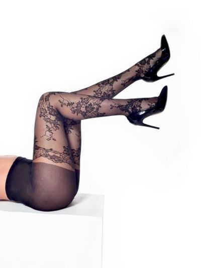 Pamela Mann Mock Lace Tights
