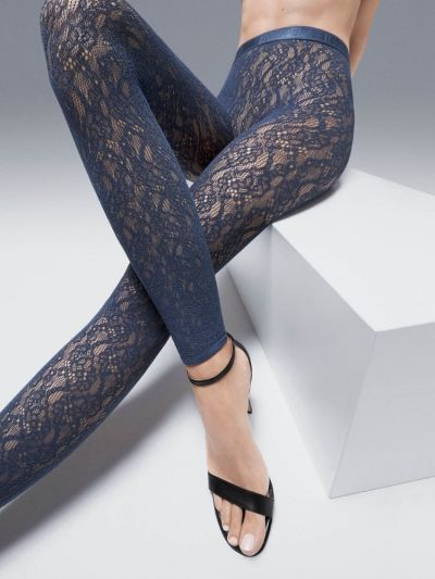 Wolford Ree Lace Footless Tights