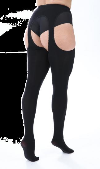 Pamela Mann Opaque Bodyfree Suspender Curvy Tights