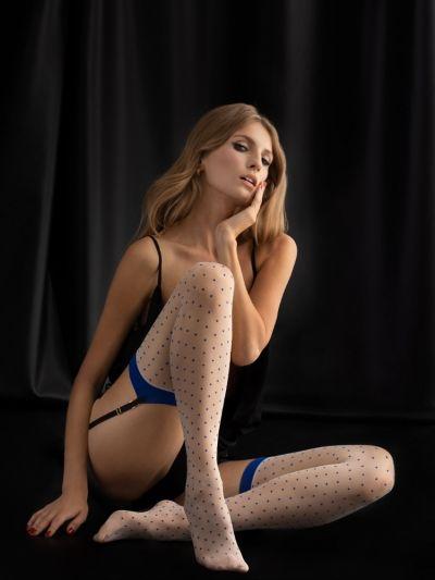 Fiore Malena Dotty Stockings